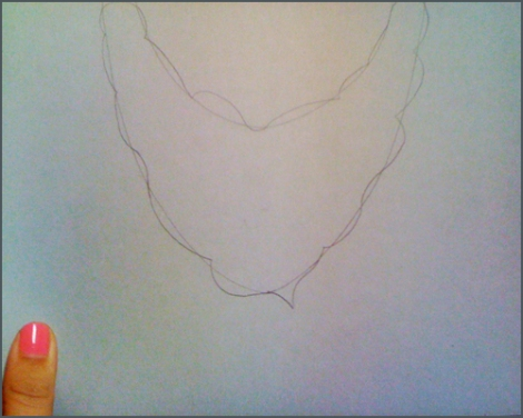 diseñar el collar